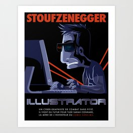 Illustrator Art Print