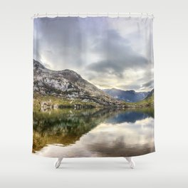 Lake Enol Shower Curtain