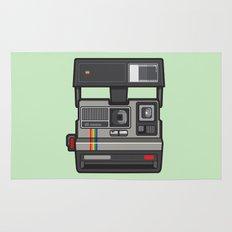 #43 Polaroid Camera Rug
