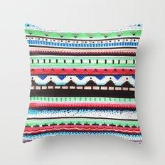 Pattern Doodle Three Throw Pillow