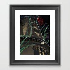 Shinra Empire Framed Art Print