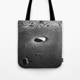 Apollo 10 - Moltke Moon Crater Tote Bag