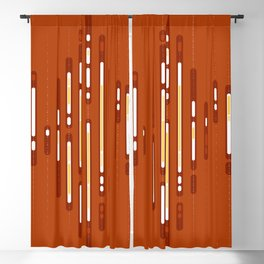 Sunset Dream – Orange / Yellow / Red Abstract Blackout Curtain