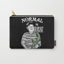 Pugsley: Normal is Boring Carry-All Pouch