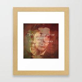 C.S. Lewis - Memory Framed Art Print