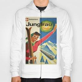 Vintage poster - Jungfrau, Switzerland Hoody
