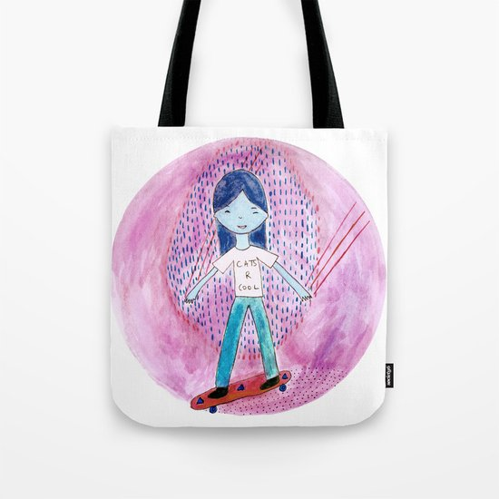 Cats are cool Tote Bag
