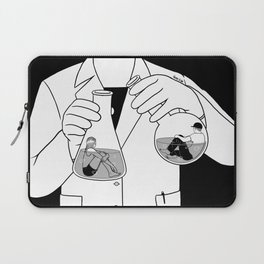 The Chemistry Between Us Laptop Sleeve