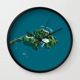Phi Phi Island of Thailand Wall Clock