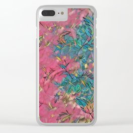 leggings-240 Clear iPhone Case