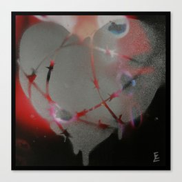 Airport X-Ray Vision Canvas Print