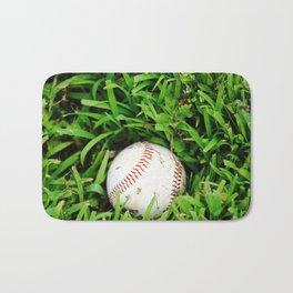The Lost Baseball Bath Mat