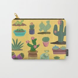Desert Plants Carry-All Pouch