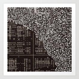 - herboriste - Art Print