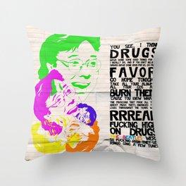Bill Hicks tribute Throw Pillow