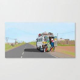 Senegal Bus Canvas Print
