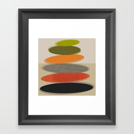 Mid-Century Modern Ovals Abstract by kippygirl