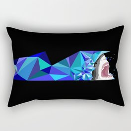 Break Through Rectangular Pillow
