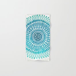 Radiate in Teal + Emerald Hand & Bath Towel
