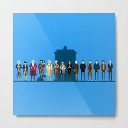 THE DOCTORS WILL SEE YOU NOW Metal Print