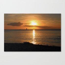 Seduced by the Sun Canvas Print