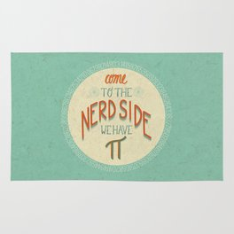 Come to the Nerd Side Rug