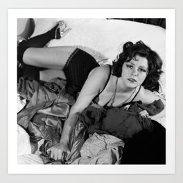 Clara Bow Sexy Time Art Print