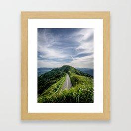 road to heaven Framed Art Print