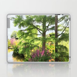 Hyde Hall in the blush of a summer Laptop & iPad Skin