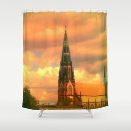 The Steeple Shower Curtain