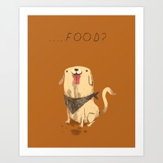 food? Art Print