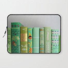 shelfie in green Laptop Sleeve
