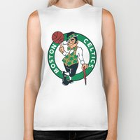 nba Biker Tanks featuring NBA - Celtics by Katieb1013
