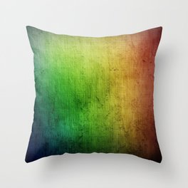 Colorful - Rainbow Throw Pillow