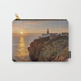 Cabo de Sao Vicente, sunset Carry-All Pouch
