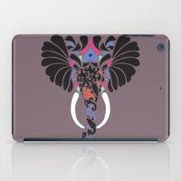 asian iPad Cases featuring Asian Elephant by Paula McGloin