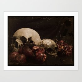 The Ripened Wisdom of the Dead Art Print