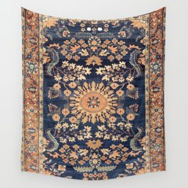 Sarouk Persian Floral Rug Print Wall Tapestry
