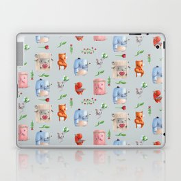 Unusual couples Laptop & iPad Skin