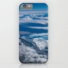 Aerial Glacier Five - Alaska iPhone Case