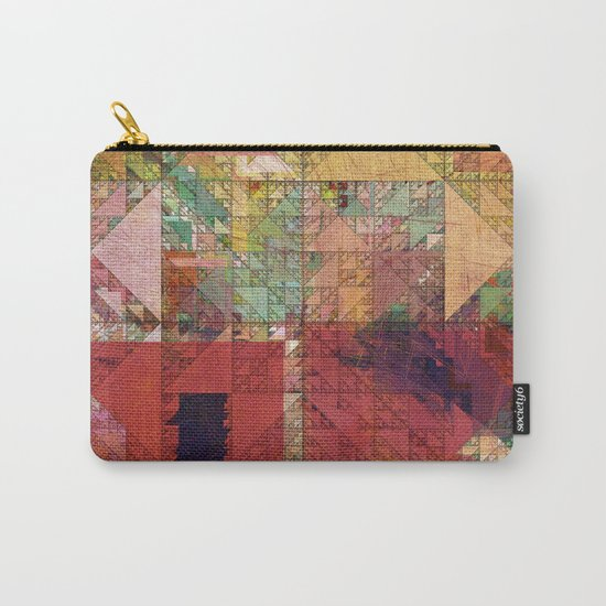 Aztec Vintage Pattern 09 Carry-All Pouch
