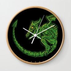 Metroid 3 Wall Clock