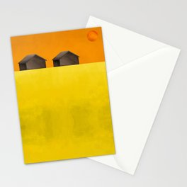 Simple housing - Love me two times Stationery Cards