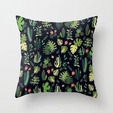 tropical! Throw Pillow