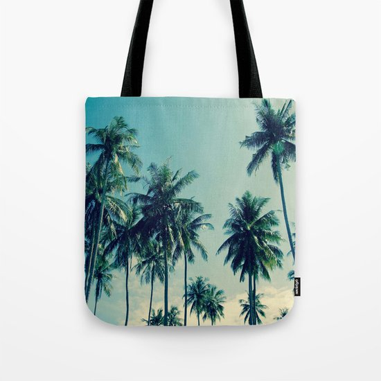 Coconut Trees Tote Bag