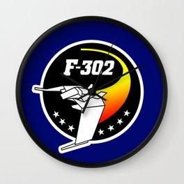 F302 Logo Wall Clock
