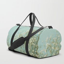 Baby Blue Duffle Bag
