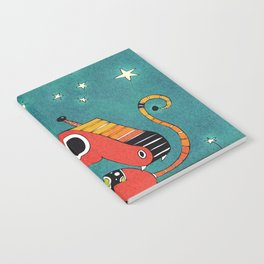 Red and Orange Dragonie Notebook
