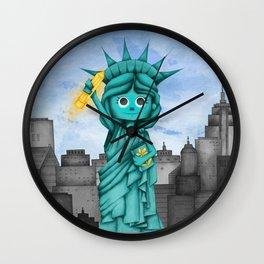 Statue of Art Wall Clock
