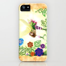 Flower Fairy iPhone Case
